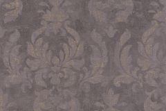 467451 cikkszámú tapéta.Barokk-klasszikus,retro,barna,lila,szürke,lemosható,vlies tapéta