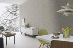 467642 cikkszámú tapéta.Különleges felületű,különleges motívumos,retro,szürke,zöld,lemosható,vlies tapéta