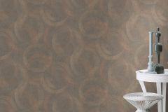 467789 cikkszámú tapéta.Absztrakt,geometriai mintás,különleges felületű,különleges motívumos,rajzolt,retro,barna,narancs-terrakotta,szürke,lemosható,vlies tapéta