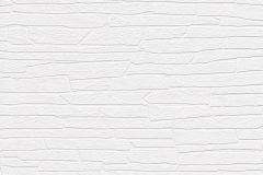 150001 cikkszámú tapéta.Csíkos,kőhatású-kőmintás,fehér,vlies tapéta