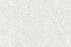 175905 cikkszámú tapéta.Barokk-klasszikus,kőhatású-kőmintás,különleges motívumos,természeti mintás,virágmintás,fehér,szürke,vlies tapéta
