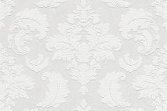 178906 cikkszámú tapéta.Geometriai mintás,kőhatású-kőmintás,különleges motívumos,fehér,szürke,vlies tapéta