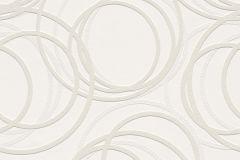 342208 cikkszámú tapéta.Geometriai mintás,különleges motívumos,szürke,vajszínű,vlies tapéta