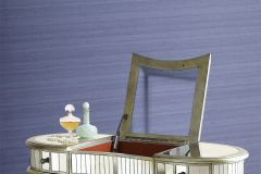 AK2313 cikkszámú tapéta.Egyszínű,különleges felületű,textilmintás,kék,lila,lemosható,vlies tapéta