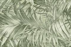 AL5103 cikkszámú tapéta.Különleges felületű,metál-fényes,természeti mintás,zöld,gyengén mosható,vlies tapéta