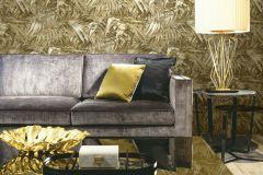 AL5104 cikkszámú tapéta.Különleges felületű,metál-fényes,természeti mintás,arany,barna,gyengén mosható,vlies tapéta