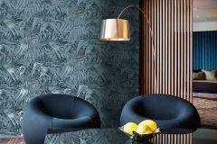 AL5105 cikkszámú tapéta.Különleges felületű,metál-fényes,természeti mintás,kék,gyengén mosható,vlies tapéta