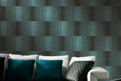 AL5202 cikkszámú tapéta.Absztrakt,különleges felületű,metál-fényes,barna,kék,gyengén mosható,vlies tapéta