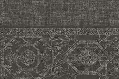 AL5305 cikkszámú tapéta.Különleges felületű,különleges motívumos,metál-fényes,barna,ezüst,gyengén mosható,vlies tapéta