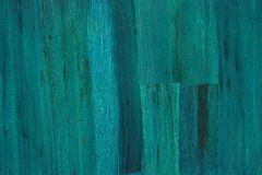 MA023 cikkszámú tapéta.Fa hatású-fa mintás,különleges felületű,türkiz,gyengén mosható,illesztés mentes,vlies tapéta