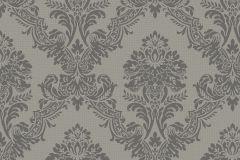 MA3602 cikkszámú tapéta.Barokk-klasszikus,különleges felületű,metál-fényes,ezüst,gyöngyház,szürke,gyengén mosható,vlies tapéta