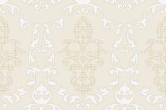 MA3801 cikkszámú tapéta.Barokk-klasszikus,különleges felületű,arany,bronz,fehér,szürke,gyengén mosható,vlies tapéta