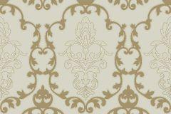 MA3802 cikkszámú tapéta.Barokk-klasszikus,különleges felületű,arany,bézs-drapp,gyengén mosható,vlies tapéta