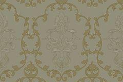 MA3803 cikkszámú tapéta.Barokk-klasszikus,különleges felületű,arany,barna,bronz,ezüst,gyengén mosható,vlies tapéta