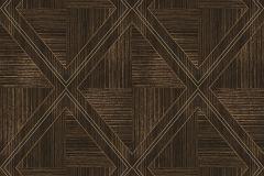 RE4103 cikkszámú tapéta.Absztrakt,geometriai mintás,különleges felületű,arany,barna,ezüst,gyengén mosható,vlies tapéta