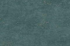 RE4404 cikkszámú tapéta.Egyszínű,különleges felületű,arany,türkiz,gyengén mosható,vlies tapéta