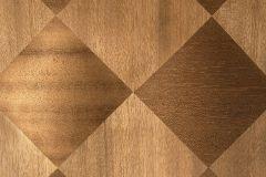 MA014 cikkszámú tapéta.3d hatású,geometriai mintás,különleges felületű,metál-fényes,barna,gyengén mosható,illesztés mentes,vlies tapéta