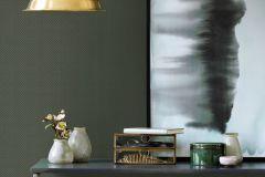 WA2109 cikkszámú tapéta.Csillámos,egyszínű,különleges felületű,zöld,gyengén mosható,vlies tapéta