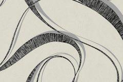 WA2301 cikkszámú tapéta.Absztrakt,különleges felületű,ezüst,fehér,fekete,gyengén mosható,vlies tapéta