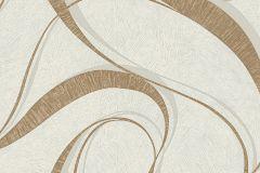 WA2302 cikkszámú tapéta.Absztrakt,különleges felületű,arany,barna,fehér,gyöngyház,gyengén mosható,vlies tapéta
