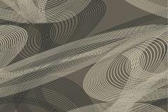 ZA1103 cikkszámú tapéta.Absztrakt,különleges felületű,barna,bronz,gyengén mosható,vlies tapéta