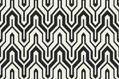ZA1202 cikkszámú tapéta.Absztrakt,különleges felületű,fehér,fekete,gyengén mosható,vlies tapéta