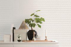 ZA1804 cikkszámú tapéta.Absztrakt,különleges felületű,fehér,szürke,gyengén mosható,vlies tapéta