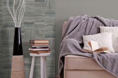 L32809 cikkszámú tapéta.Absztrakt,kőhatású-kőmintás,különleges felületű,barna,szürke,zöld,lemosható,illesztés mentes,vlies tapéta