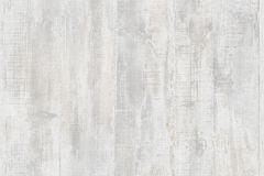 L68309 cikkszámú tapéta.Fa hatású-fa mintás,különleges felületű,fehér,szürke,lemosható,illesztés mentes,vlies tapéta