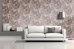 L77103 cikkszámú tapéta.3d hatású,absztrakt,különleges felületű,metál-fényes,pink-rózsaszín,lemosható,vlies tapéta