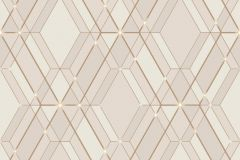L77807 cikkszámú tapéta.Absztrakt,különleges felületű,arany,pink-rózsaszín,lemosható,vlies tapéta