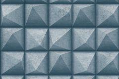 L78601 cikkszámú tapéta.3d hatású,különleges felületű,kék,szürke,lemosható,vlies tapéta