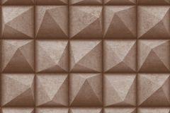 L78608 cikkszámú tapéta.3d hatású,különleges felületű,barna,lemosható,vlies tapéta