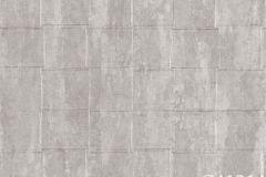 Z41214 cikkszámú tapéta.Absztrakt,kőhatású-kőmintás,különleges felületű,ezüst,szürke,súrolható,vlies tapéta