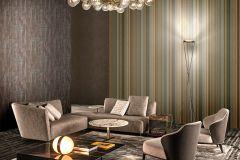 Z41232 cikkszámú tapéta.Absztrakt,különleges felületű,metál-fényes,barna,szürke,súrolható,vlies tapéta