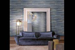 Z41250 cikkszámú tapéta.Absztrakt,különleges felületű,metál-fényes,barna,kék,szürke,súrolható,vlies tapéta