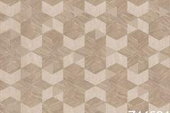 Z44524 cikkszámú tapéta.3d hatású,csillámos,geometriai mintás,különleges felületű,arany,bézs-drapp,súrolható,vlies tapéta