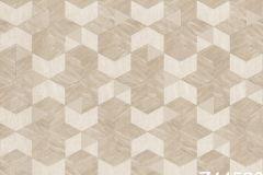Z44526 cikkszámú tapéta.3d hatású,csillámos,geometriai mintás,különleges felületű,bézs-drapp,gyöngyház,súrolható,vlies tapéta