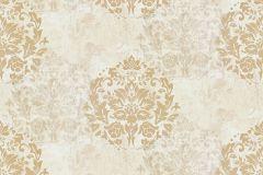 Z44538 cikkszámú tapéta.Barokk-klasszikus,különleges felületű,arany,bézs-drapp,ezüst,fehér,súrolható,vlies tapéta