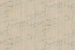 Z44549 cikkszámú tapéta.Absztrakt,különleges felületű,metál-fényes,bézs-drapp,kék,súrolható,vlies tapéta