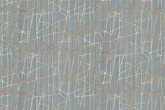 Z44555 cikkszámú tapéta.Absztrakt,különleges felületű,metál-fényes,kék,narancs-terrakotta,súrolható,vlies tapéta